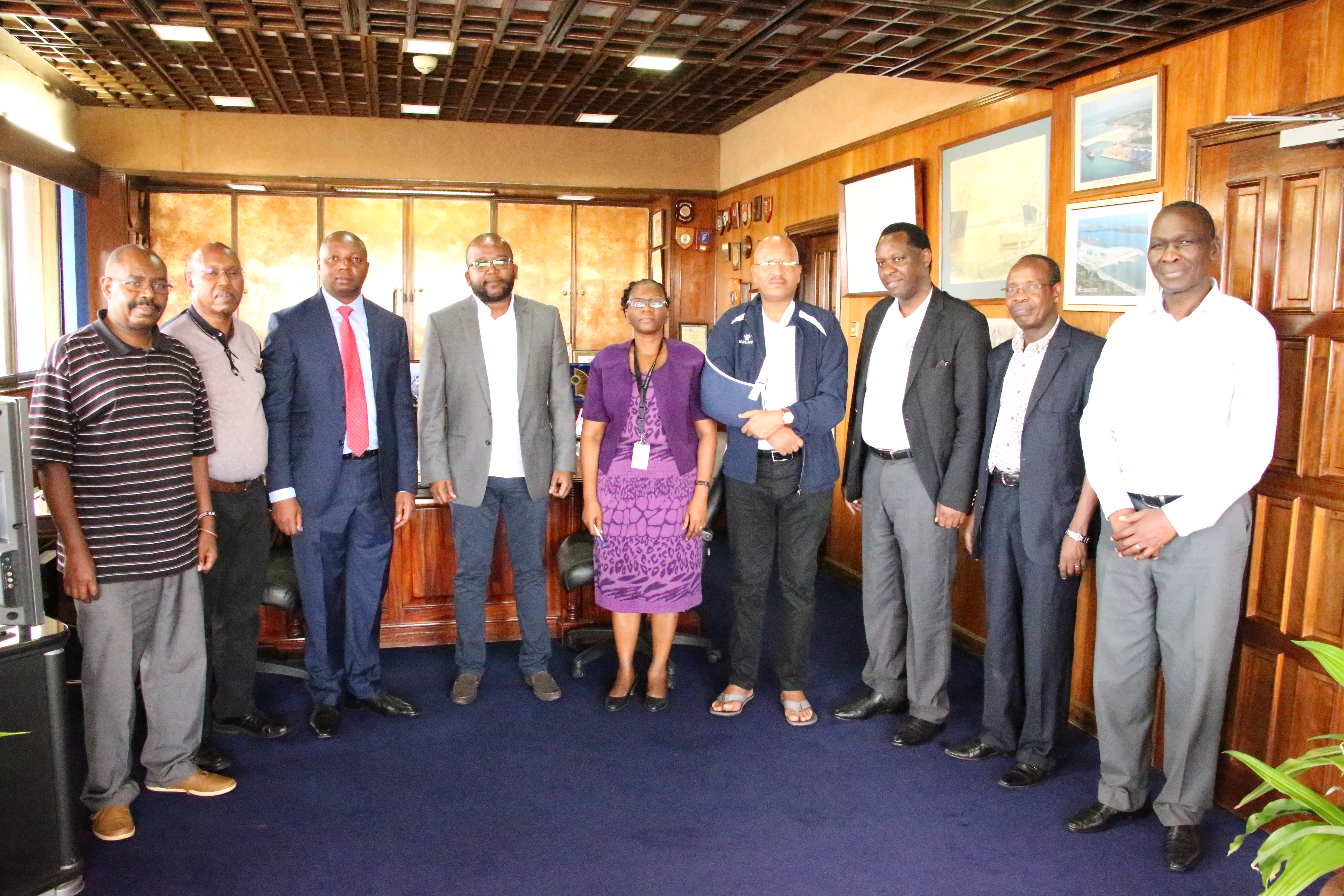 Newly appointed KPA MD reports to office